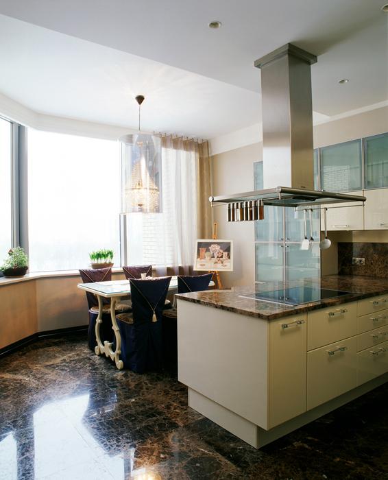 Квартира. кухня из проекта , фото №12347
