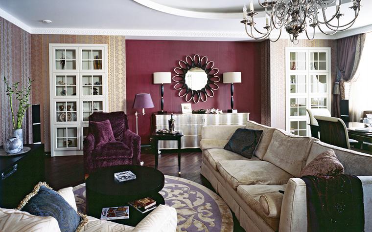 интерьер гостиной - фото № 12345