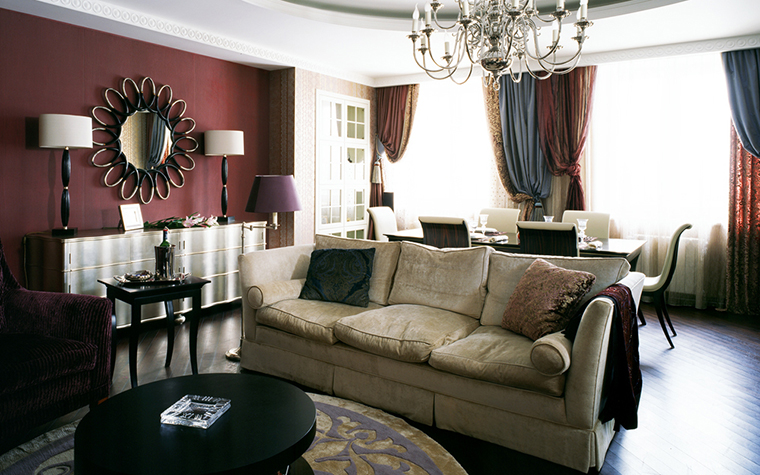 интерьер гостиной - фото № 12346