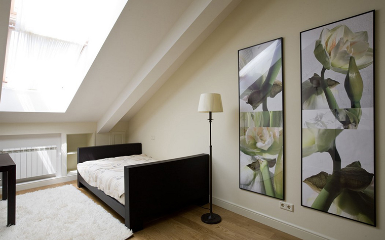 интерьер спальни - фото № 12407