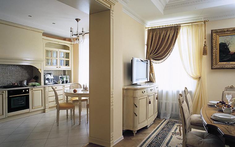 Квартира. столовая из проекта , фото №12409