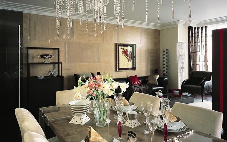 интерьер гостиной - фото № 12416