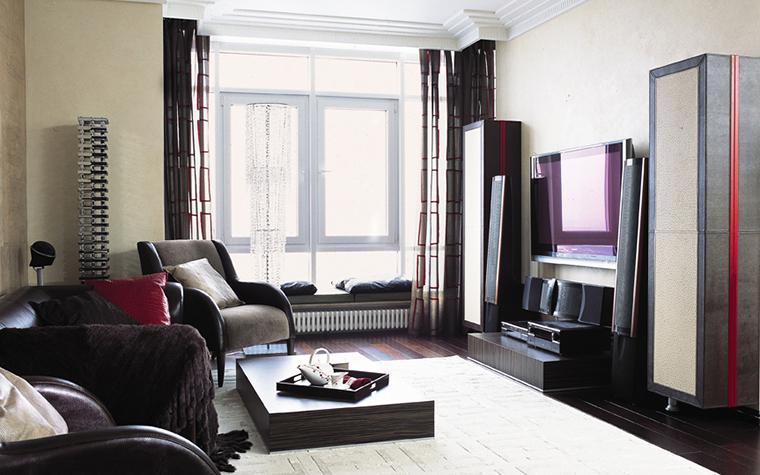 Квартира. гостиная из проекта , фото №12417