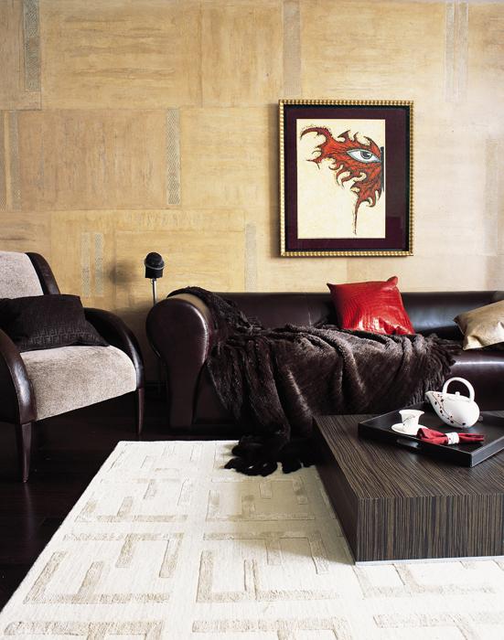 интерьер гостиной - фото № 12418