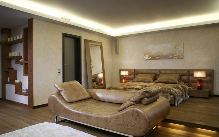 интерьер спальни - фото № 12456