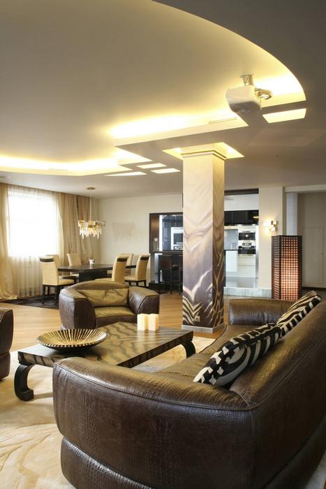 интерьер гостиной - фото № 12448