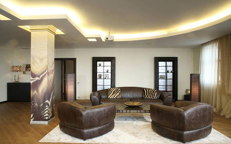 интерьер гостиной - фото № 12449