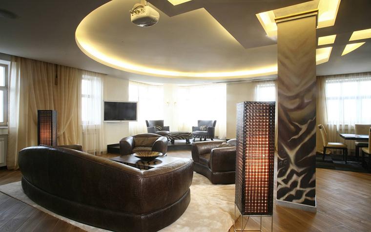 интерьер гостиной - фото № 12450