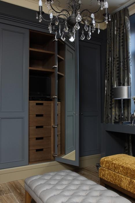 16 вариантов  гардеробных комнат
