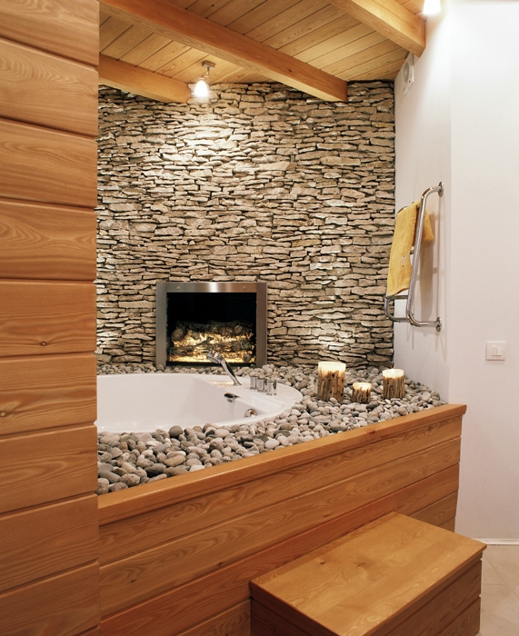 интерьер ванной - фото № 12575