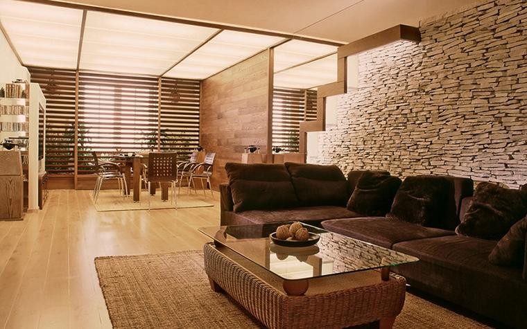 Квартира. гостиная из проекта , фото №12573