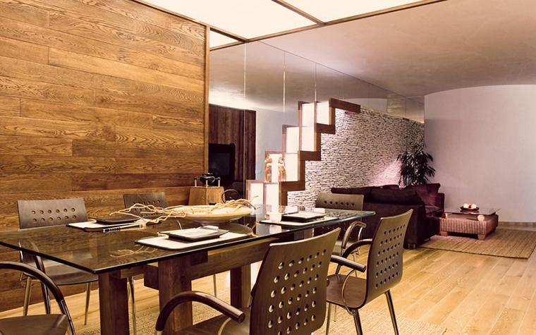 Квартира. столовая из проекта , фото №12571