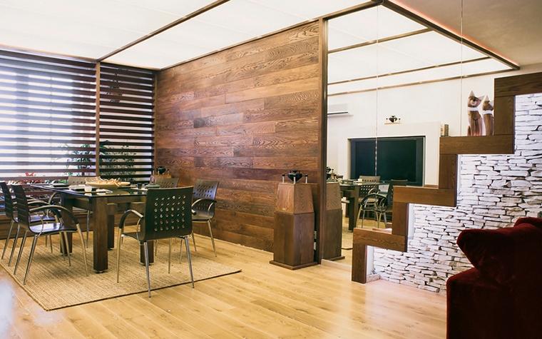 Квартира. столовая из проекта , фото №12572