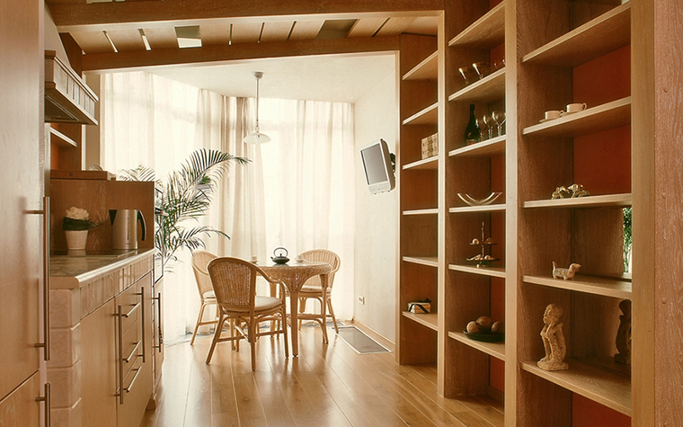 Квартира. кухня из проекта , фото №12576
