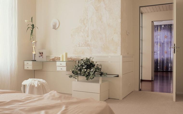 Квартира. спальня из проекта , фото №12578