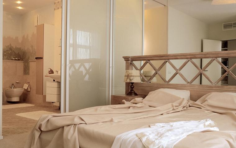 Квартира. спальня из проекта , фото №12579