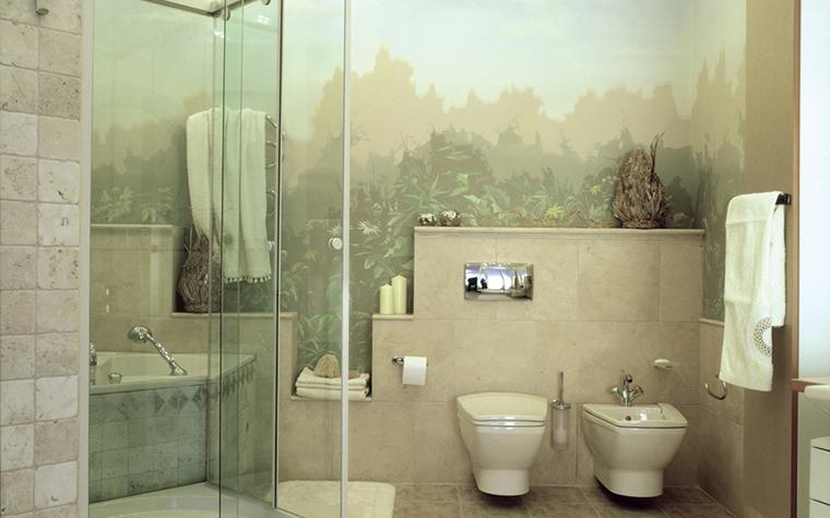 Квартира. ванная из проекта , фото №12585