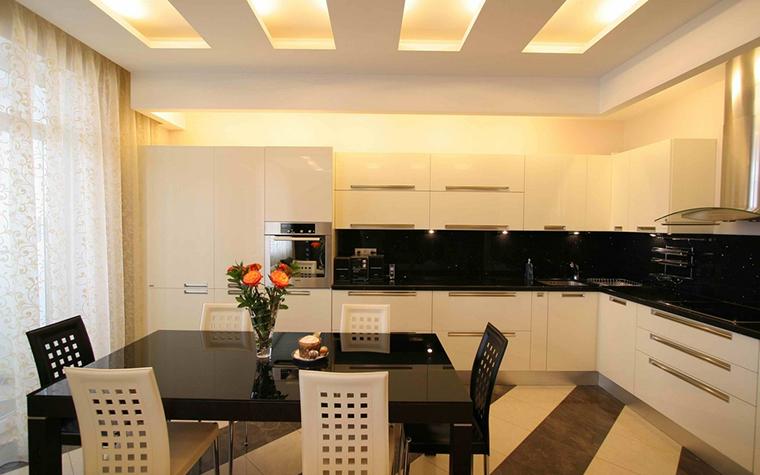 Квартира. кухня из проекта , фото №12620