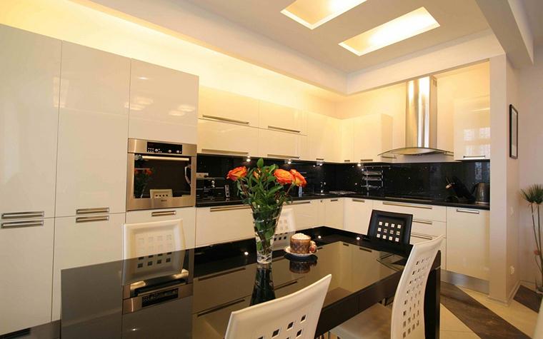 Квартира. кухня из проекта , фото №12621