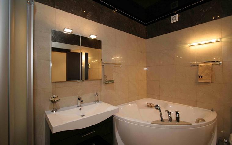 Квартира. ванная из проекта , фото №12626