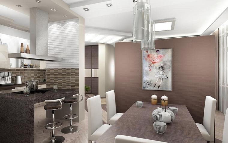 Квартира. кухня из проекта , фото №12638