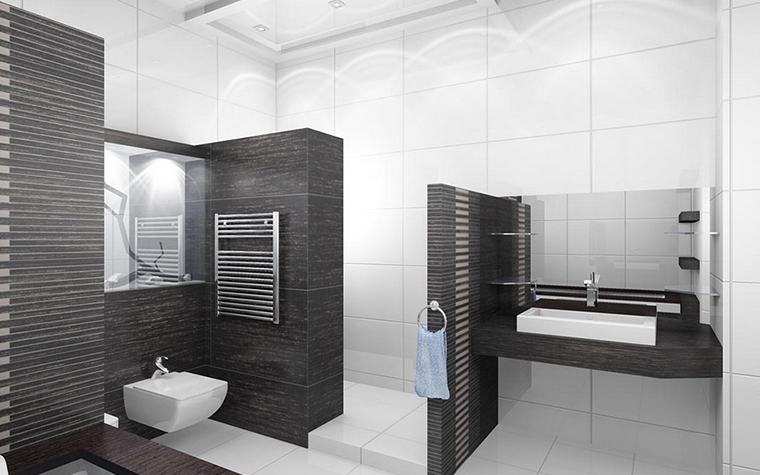 интерьер ванной - фото № 12639