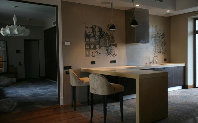 Квартира. кухня из проекта , фото №13122