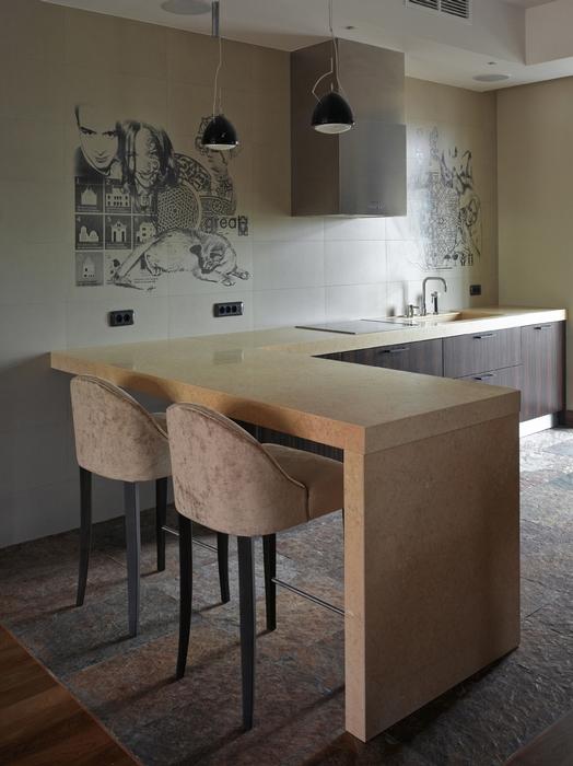 Квартира. кухня из проекта , фото №13119