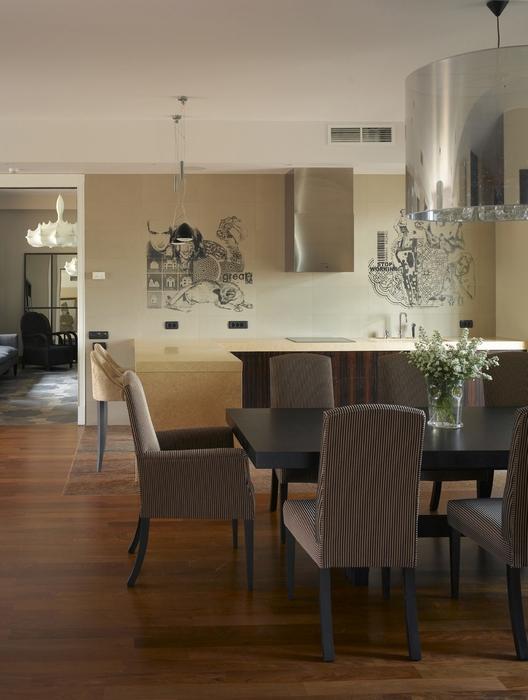Квартира. кухня из проекта , фото №13121