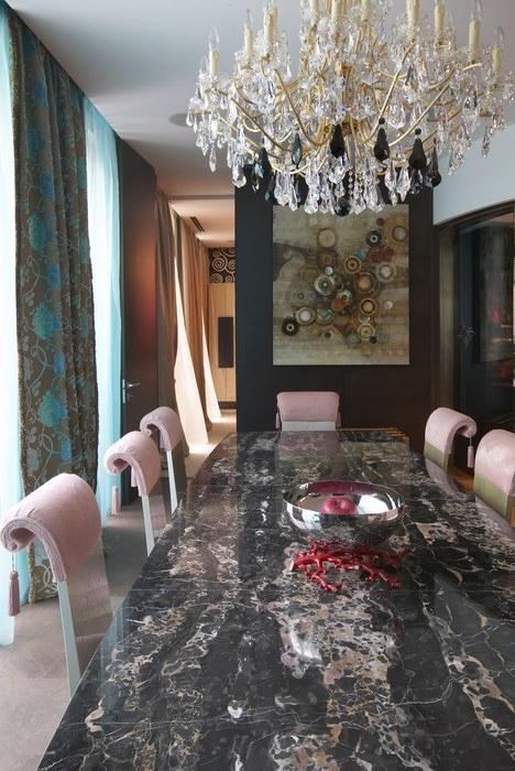 Квартира. столовая из проекта , фото №12746