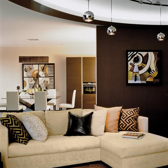 Квартира. гостиная из проекта , фото №12769