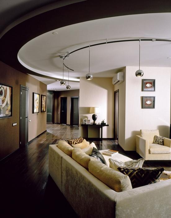 Квартира. гостиная из проекта , фото №12753