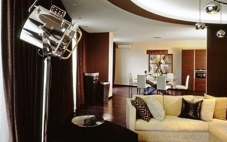 Квартира. гостиная из проекта , фото №12754