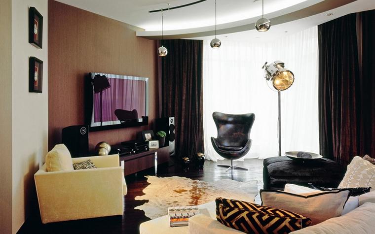Квартира. гостиная из проекта , фото №12756
