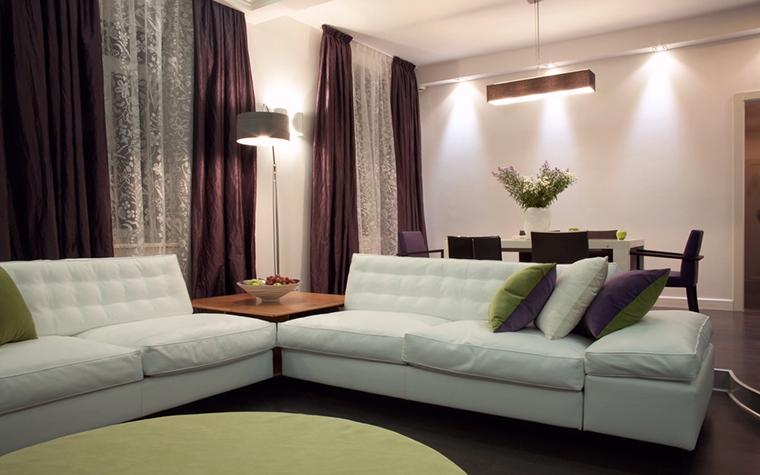 Квартира. гостиная из проекта , фото №12771
