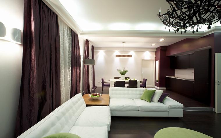 Квартира. гостиная из проекта , фото №12772
