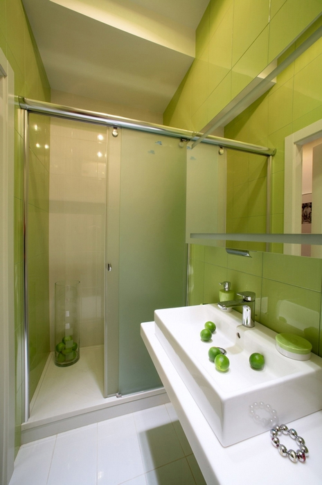 Квартира. ванная из проекта , фото №12781
