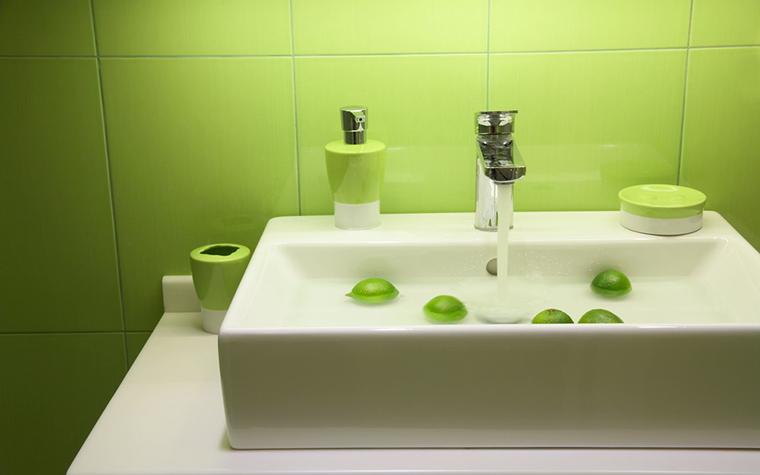 Квартира. ванная из проекта , фото №12782