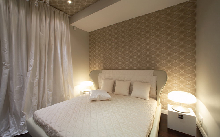 Квартира. спальня из проекта , фото №12775