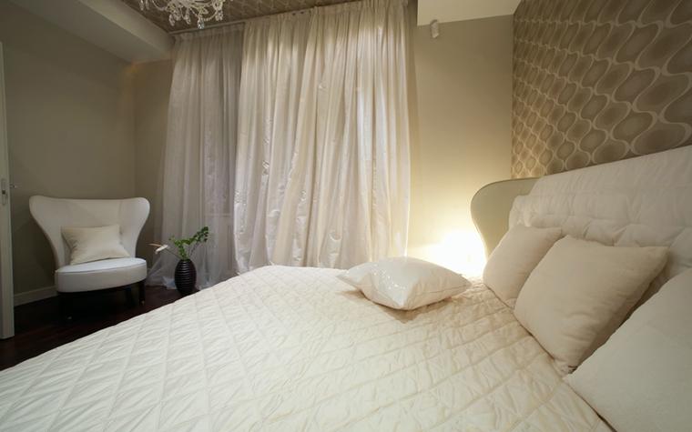 Квартира. спальня из проекта , фото №12776