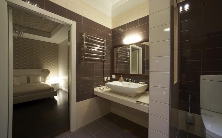Квартира. ванная из проекта , фото №12786