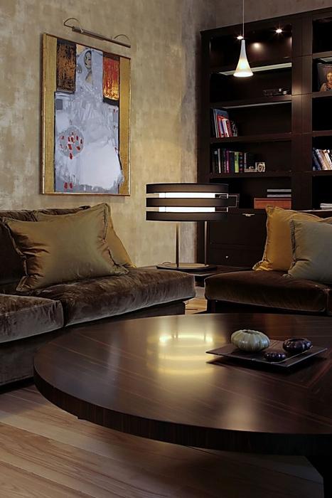 Фото № 12850 гостиная  Квартира