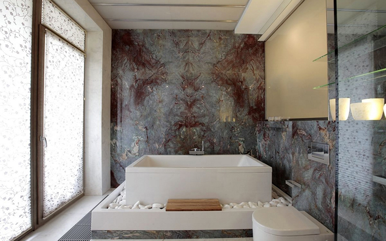 интерьер ванной - фото № 12853