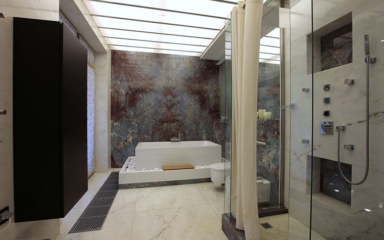 интерьер ванной - фото № 12854