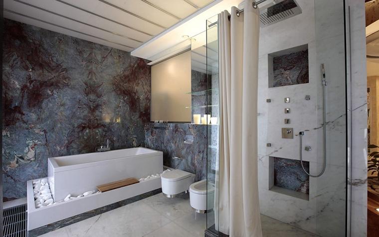 интерьер ванной - фото № 12855