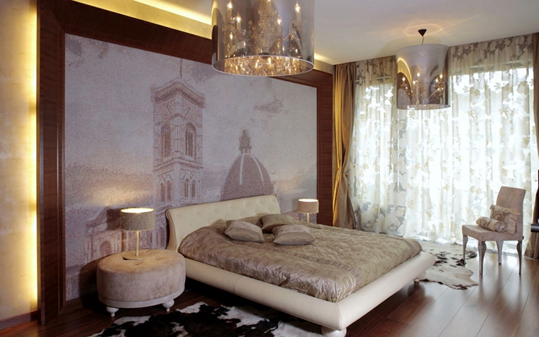 интерьер спальни - фото № 12880