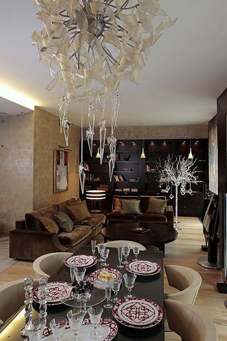 Фото № 12849 гостиная  Квартира