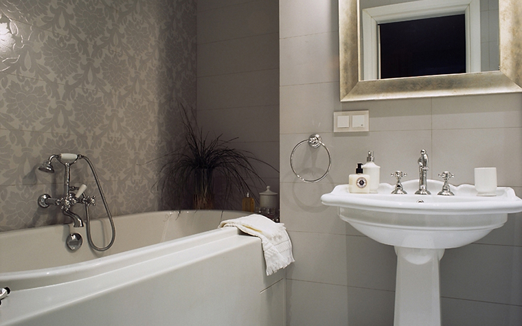интерьер ванной - фото № 12938