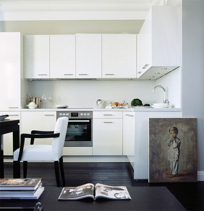 Квартира. кухня из проекта , фото №12942