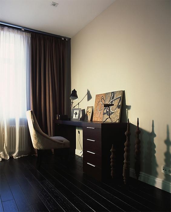 Квартира. кабинет из проекта , фото №12936